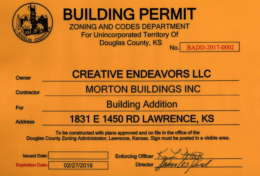 Official Building Permit
